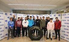 Michelin abre sus puertas a los alumnos del centro San Gabriel
