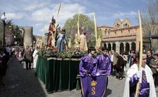 Programa de procesiones del Domingo de Ramos, 25 de marzo, en Ávila