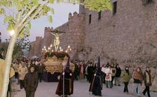 Programa de procesiones del Viernes Santo, 30 de marzo, en Ávila