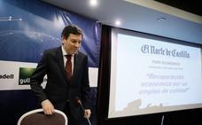 Así ha sido la intervención de Fernández Carriedo en el Foro Económico de El Norte de Castilla