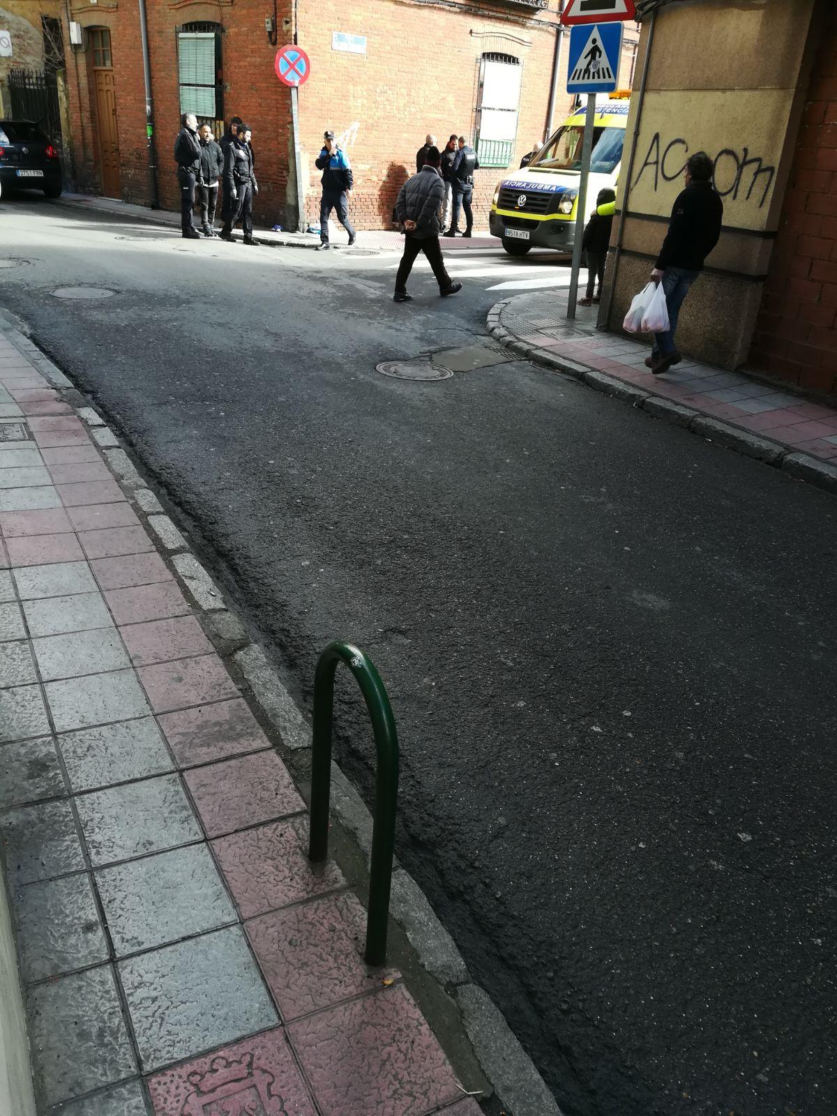 Apuñalamiento en el centro de León