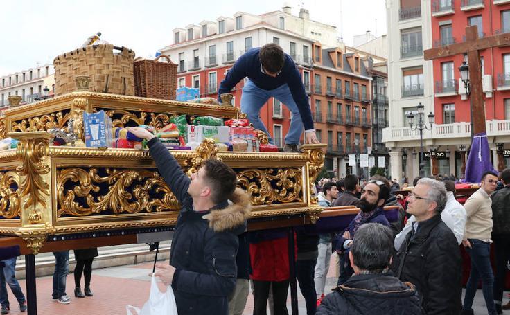 Ensayo solidario de las cofradías de Valladolid