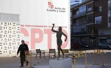 Ganemos Palencia pide que se cambie de nombre a la estatua de Marta Domínguez