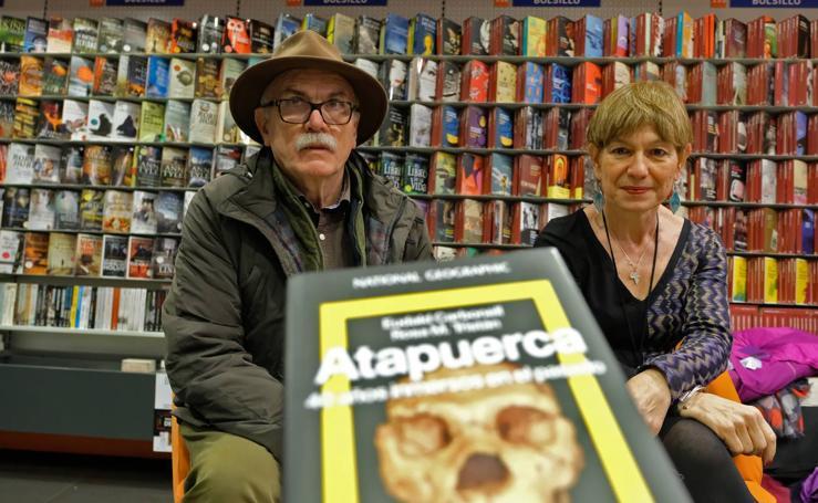 Eudald Carbonell y Rosa M. Tristán presentan el Oletvm 'Atapuerca. 40 años inmersos en el pasado'