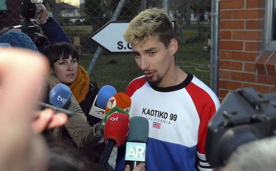 Carlos Cuadrado 'Lucho' sale de prisión