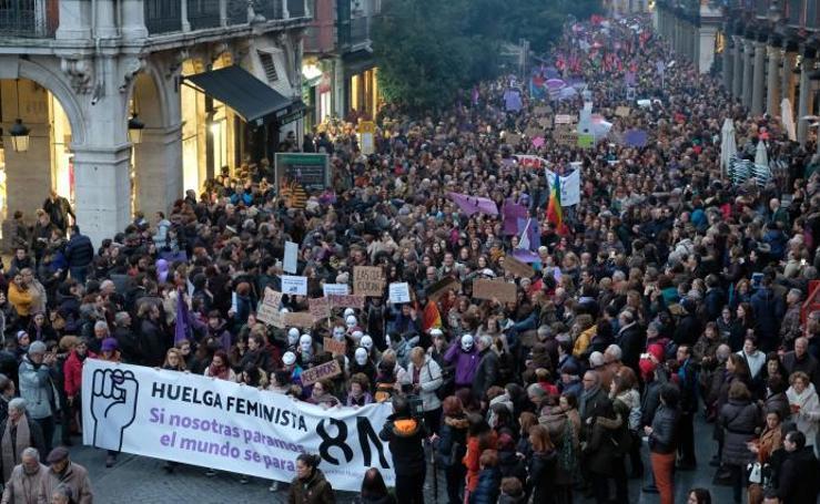 Manifestación 8-M en Valladolid