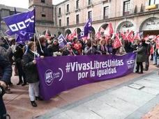 Ávila reivindica la igualdad desde los diferentes sectores políticos y sociales