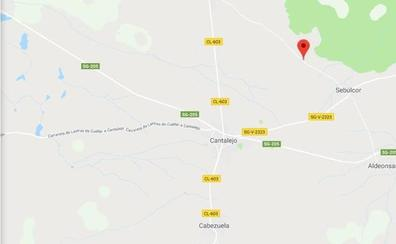 Cinco jóvenes heridas en un accidente cerca de Sebúlcor