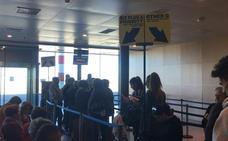 El aeropuerto de Valladolid incrementa en febrero el número de usuarios con un 9,7%