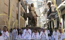 Programa de procesiones del Domingo de Ramos, 25 de marzo, en Palencia