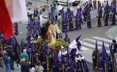 Programa de procesiones del Martes Santo, 27 de marzo, en Palencia