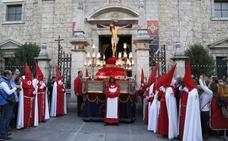 Programa de procesiones del Miércoles Santo, 28 de marzo, en Palencia