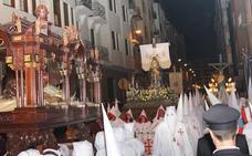 Programa de procesiones del Viernes Santo, 30 de marzo, en Palencia