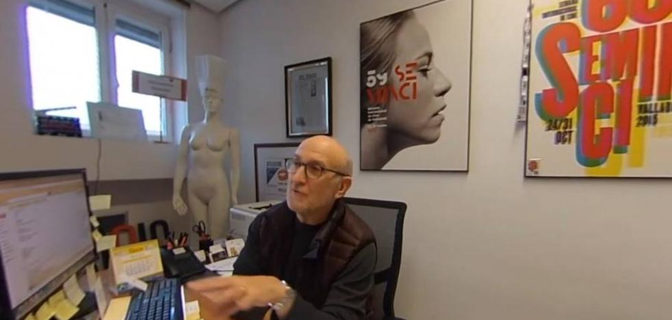 Un despacho de cine en 360º: así trabaja el director de la Seminci