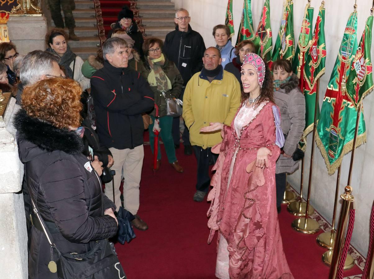 Visita teatralizada con las 'Reinas de Valladolid'