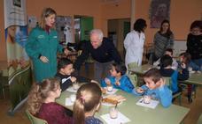 Gullón enseña a desayunar bien a los escolares de Palencia