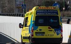 Cinco accidentes en Burgos se saldan con siete heridos, entre ellos un ciclista evacuado en helicóptero