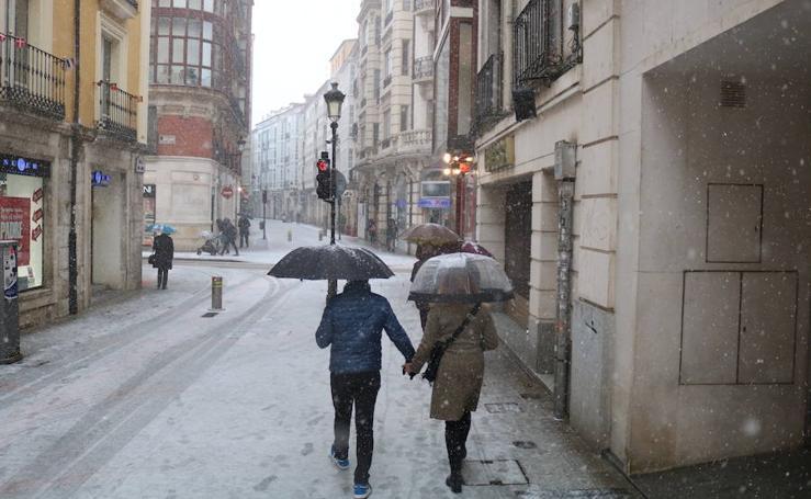 La nieve vuelve a Burgos