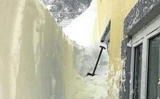 La nieve hizo acto de presencia en Segovia uno de cada cuatro días este invierno