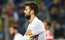 Piqué vacila a los internacionales del Real Madrid en un grupo de 'WhatsApp'