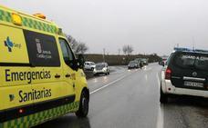 Herido un conductor de 72 años tras caer por un terraplén en Palazuelos