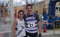 Vanesa López y Javier de la Casa mandan en los 10 Kilómetros de Pedrajas