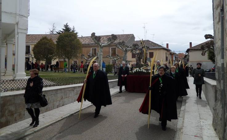 Procesión de Ramos en Carrión de los Condes