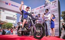 Lorenzo Santolino termina segundo en la 'Desert Storm' de la India