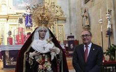 Entre 12 varales desfilará hoy la Virgen de la Caridad y del Consuelo