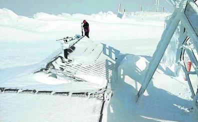 Estación esquí La Covatilla, el punto más frío España con -6,6ºC