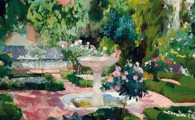 Un jardín para pintar