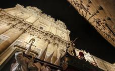 El Cristo de la Agonía Redentora abrió la noche del Jueves Santo