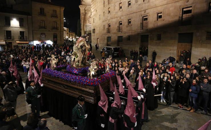 Procesión del Flagelado del Miércoles Santo en Salamanca
