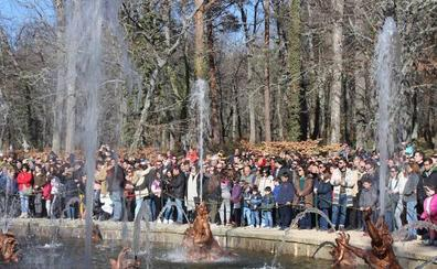Juegos de agua en el Versalles segoviano