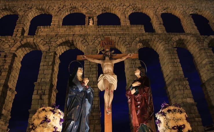 Las imágenes del Jueves Santo en Segovia (2/2)