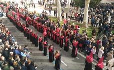 Valladolid vive una jornada maratoniana con once procesiones durante el Jueves Santo