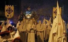 La Quinta Angustia irrumpe en la noche de Palencia