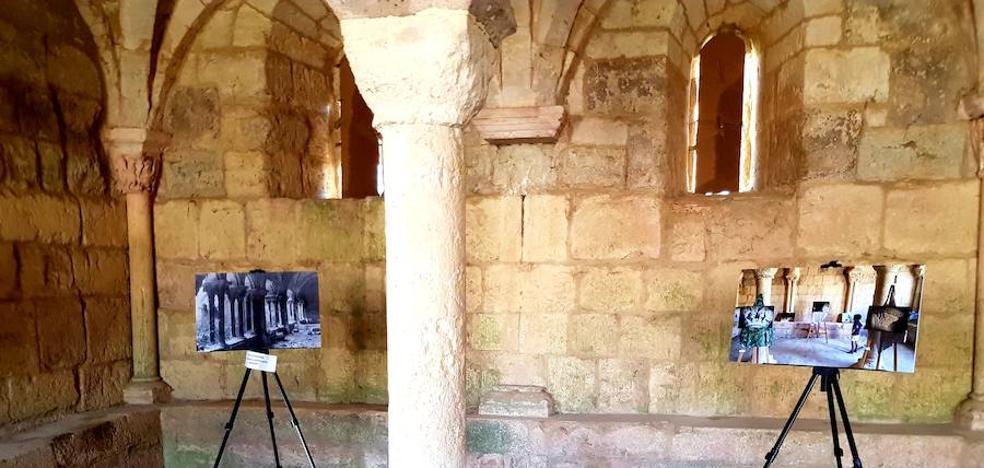 El monasterio de la Zarza de Ribas de Campos, a través de un objetivo