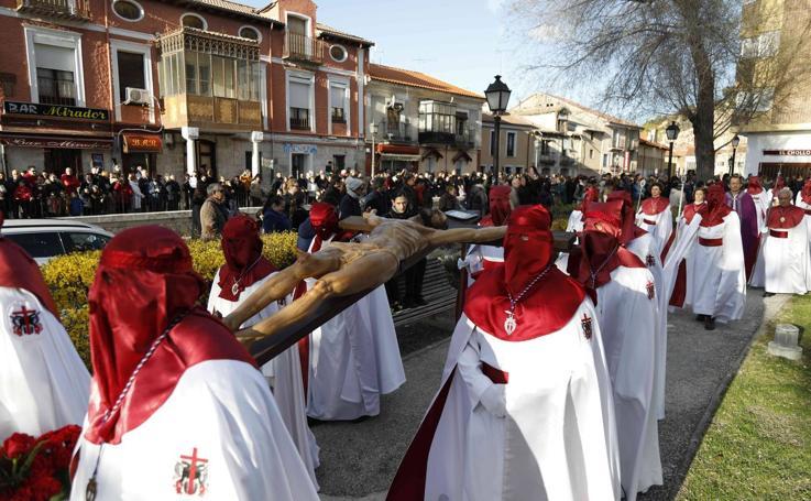 Procesión de las Carracas en Peñafiel