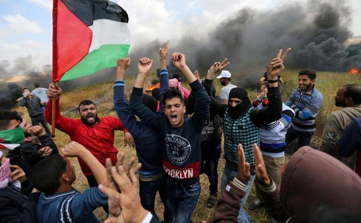 Baño de sangre en la 'Gran Marcha de Retorno' en Gaza