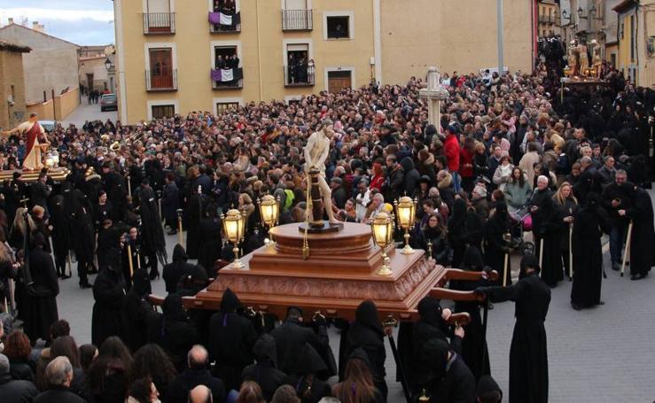 Procesión del Mandato y La Pasión en Medina de Rioseco
