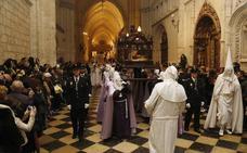 El mal tiempo también anula la procesión del Santo Entierro