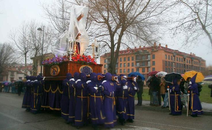 Procesión dle Viernes Santo en Cuéllar