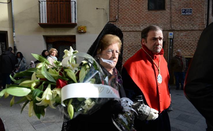 Ofrecimiento de los Dolores de Valladolid a la Santísima Virgen