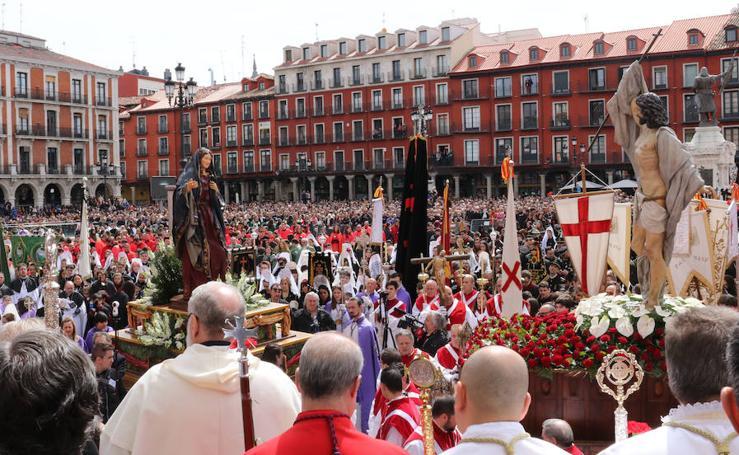 Procesión del Encuentro de Jesús Resucitado con la Virgen de la Alegría