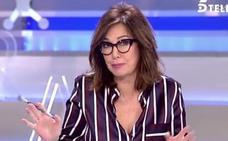 Ana Rosa Quintana responde a Puigdemont por su denuncia