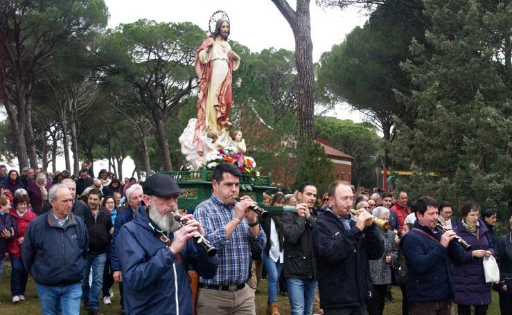 Romería de Cristo Rey en Íscar