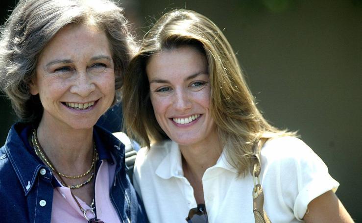 Sofía y Letizia, cuando el 'buen rollo' reinaba entre ellas