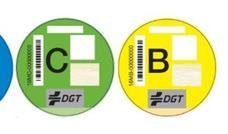 Las motos también tienen etiquetas ambientales