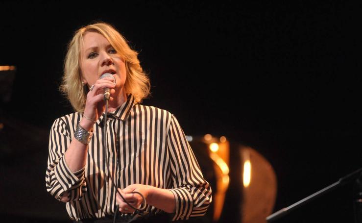 Nina Pedersen en festival de Jazz de Valladolid que se celebra en el LAVA